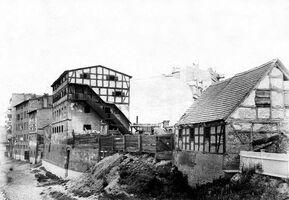 Spichlerz na Czartorii ok.1900r