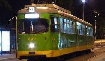 Linia tramwajowa nr 201