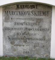 Karol Marcinkowski tablica sw Wojciecha