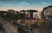 Wilhelmplatz - pocztówka