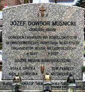 Mogiła gen. Józefa Dowbora Muśnickiego. Lusowo 1