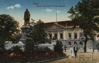 Wilhelmsplatz Kaiser-Friedrich-Denkmal 1912