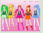 Happiness pretty cure