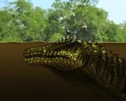 Spinosaurus-acuático