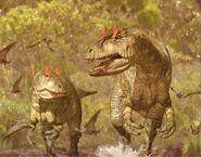 Allosaurus photomanipulation
