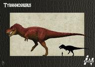 Tyrannosaurus rex-InGen