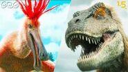 【恐竜CG】巨大羽毛恐竜・デイノケイルス vs. タルボサウルス!【NHKスペシャル 恐竜超世界×NHK1