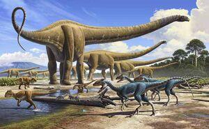 Mamenchisaurus Herd