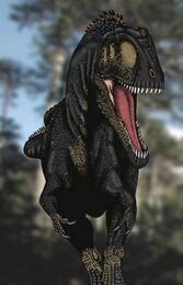 Carcharodontosaurus.