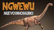 Nuevo Dinosaurio africano- Ngwevu intloko.