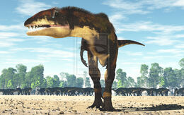 Carcharodontosaurus by paleoguy-d6upevn