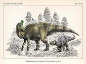 Adynomosaurus arcanus and pareisactus evrostos by fossil1991 de2k6rb-fullview.jpg