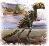 Дилофозавр 6