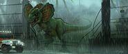 Dilophosaurus rex