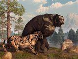 Гигантский короткомордый медведь