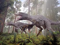 Dakotaraptor 12 by herschel hoffmeyer-dbms9bj