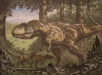 Дасплетозавры от Андрея Белова