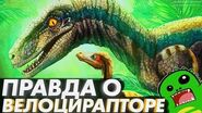ВЕЛОЦИРАПТОР- факты и правда о самом известном хищнике мезозоя и ошибки Парка Юрского Периода