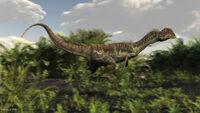 Dilophosaurus-by-Raul-Lunia