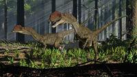 Dilophosaurus by paleoguy-d9r3rie