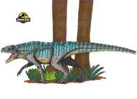 Jurassic Park Ornithosuchus by hellraptor