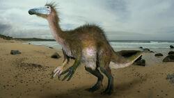 Deinocheirus by johnson mortimer.jpg