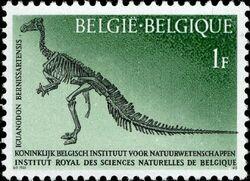 Belgium 1966 iguanodon