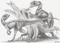 Дилофозавр 7