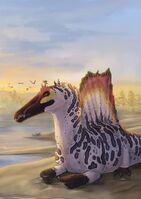 Спинозавр-далматинец