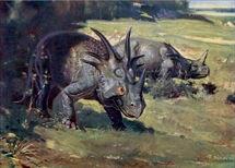 Styracosaurus Zdeněk Burian 1941