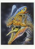 Дилофозавр 8