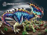 Пахигалозавр