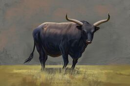 Aurochs beasts of ice and fire by kevcatalan dd117ag-fullview.jpg