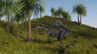 Depositphotos 45194895-stock-photo-spinosaurus-walking