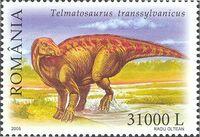 Dinosaurs from Tara Hategului - Telmatosaurus transsylvanicus, Romaniа, 2005