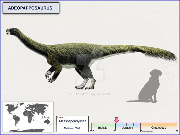 Адеопаппозавр