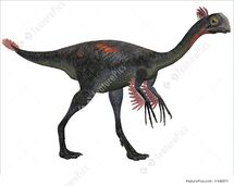 Gigantoraptor-erlianensis-3d-dinosaur-stock-illustration-940571