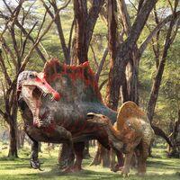 Vitamin-imagination-spinosaurus & ouranosaurus