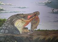 Deinosuchus by dewlap