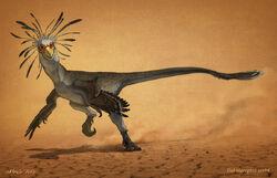 Terror of feathers by antoninjury-d9fdp8c