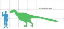 Dakota raptor scale mmartyniuk