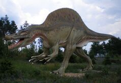 Spinosaurus Tierpark Germendorf