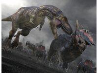 Дасплетозавр и центрозавр