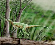 Staurikosaur BW