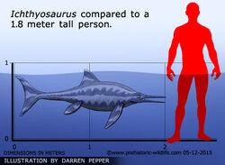 Ихтиозавр 7