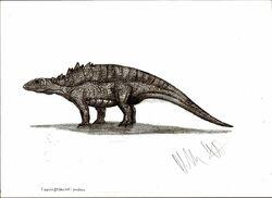 Liaoningosaurus paradoxus by teratophoneus-d4nvlam ec50.jpg