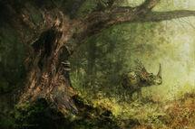 Solitude styracosaurus by craftycreatures-d5p5snc