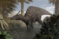 Saurolophus image
