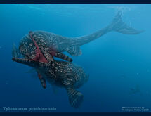 Tylosaurus pembinensis by christopher252-d98n8kz