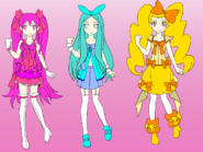 TimeShine PreCure Girls